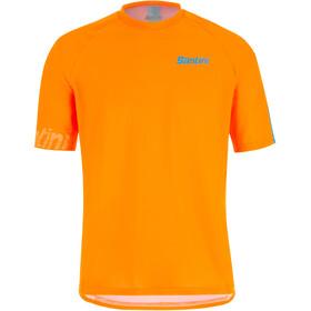 Santini Sasso MTB S/S Jersey Men orange fluo
